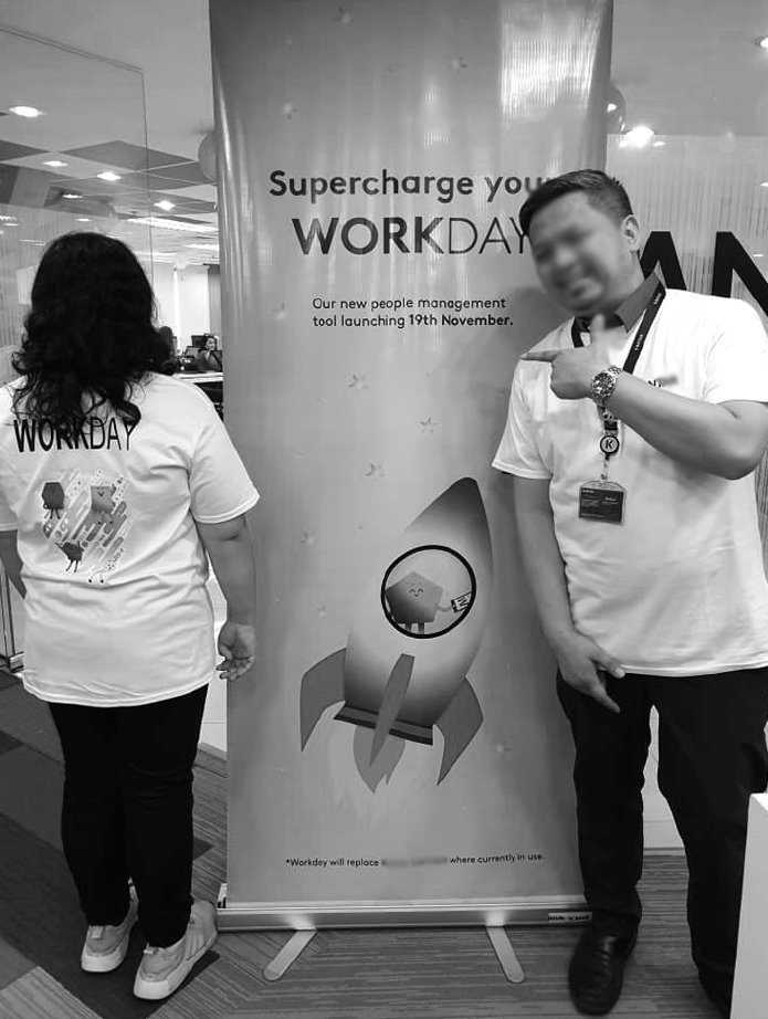 Workday launch - pull-up banners