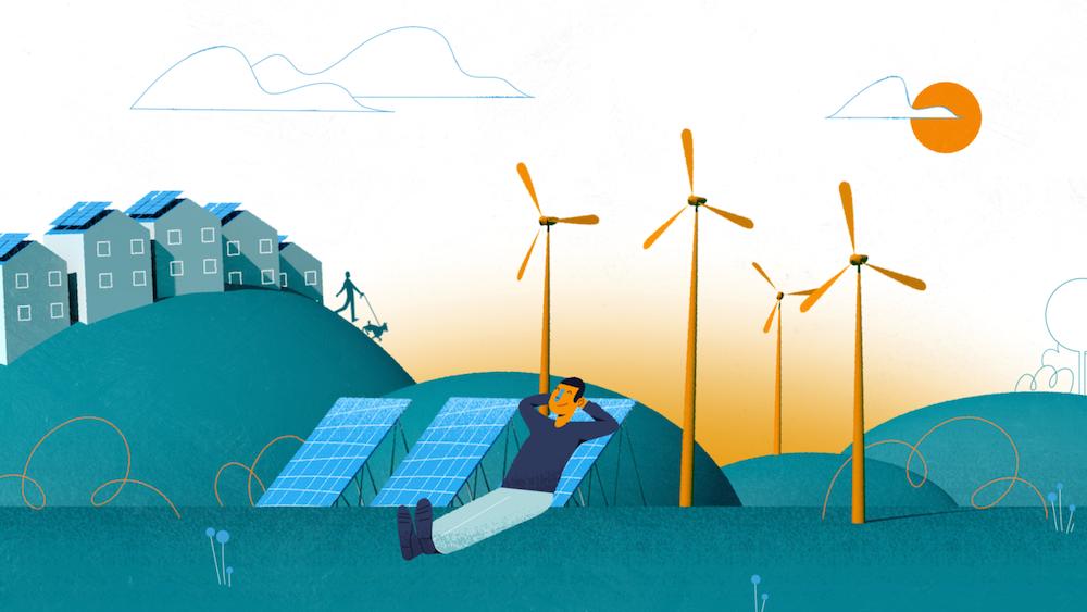 Green New Deal - renewable energy