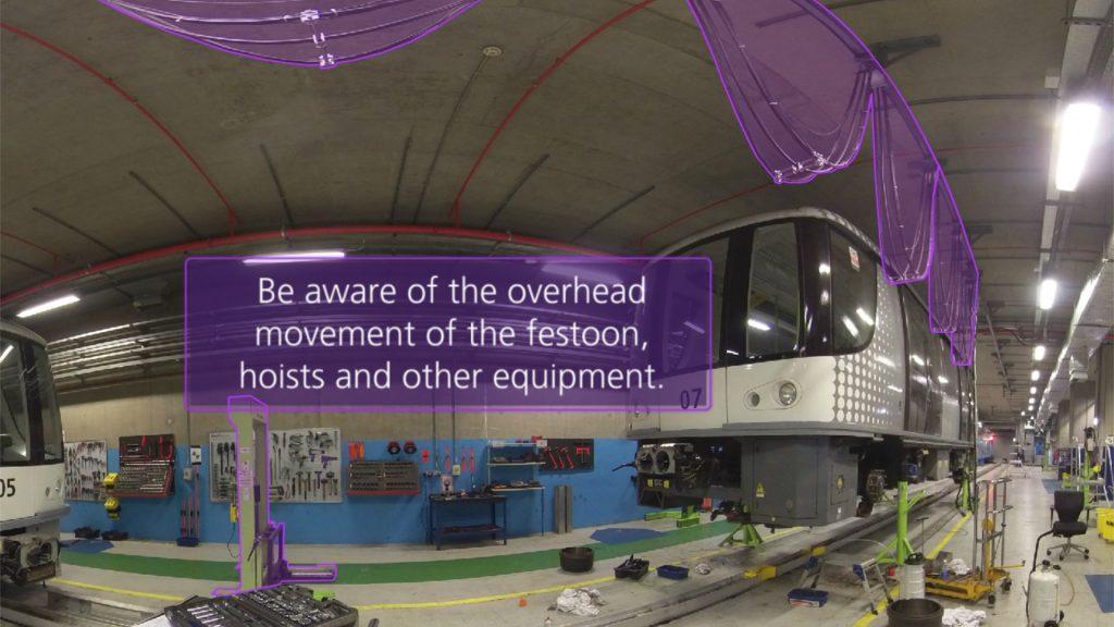 VR training - identifying electrical hazards