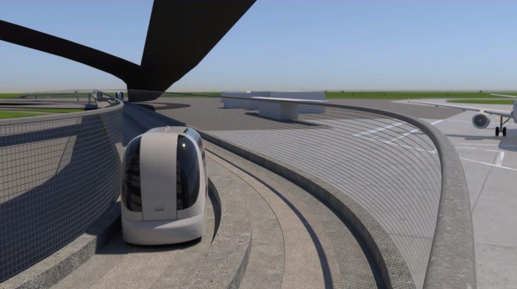 VR training - vehicle on track