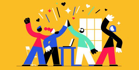 Image showing impact of employee engagement on team motivation
