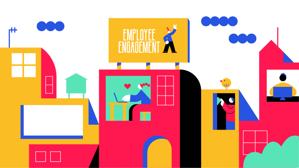 Image showing employee engagement across range of workspaces